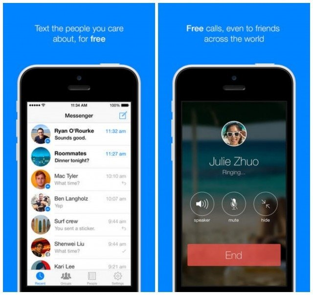 Facebook Buzz - Now Make Free Calls with Facebook Messenger