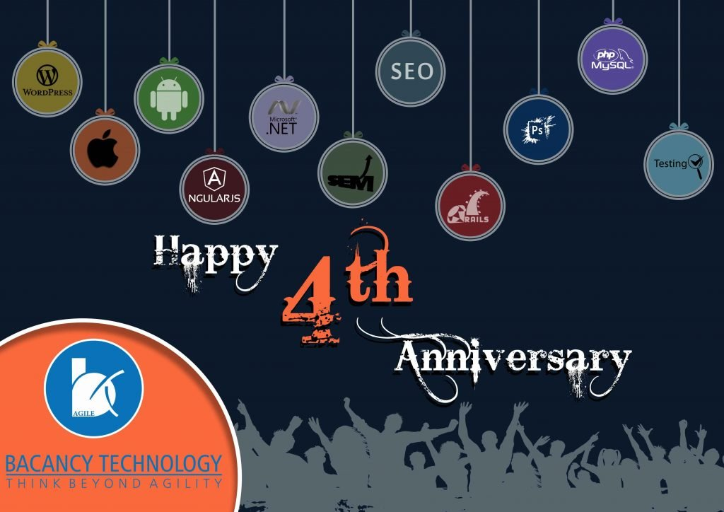 Bacancy Technology: Celebrating the 4 years