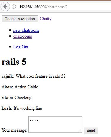 Rails 5.0: Build A Real-Time Chat App With Action Cable