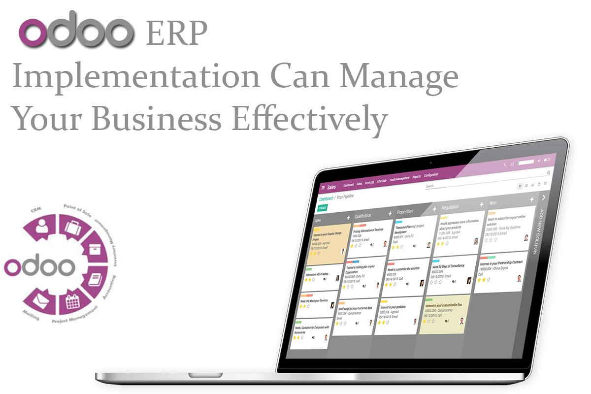 ODOO ERP Implementation To Meet The Specific Needs Of Your Business