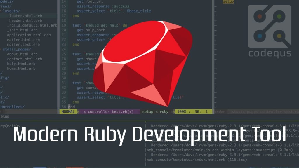 Modern Ruby on Rails Development Setup Tools