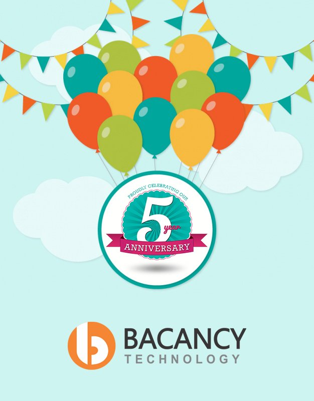 Bacancy Technology: Celebrating 5 Years Of Growth, Success And Excellence