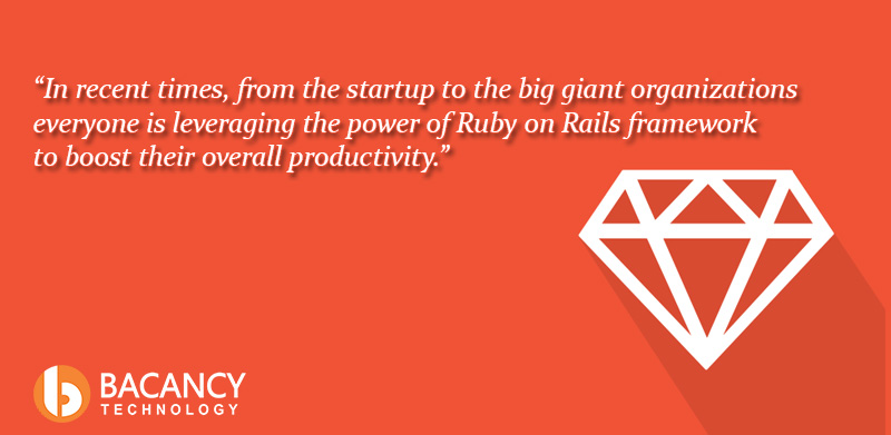 Along With Reducing Development Cost and Saving 50 % of Time, Ruby on Rails Ensures a Successful Mobile Application Development