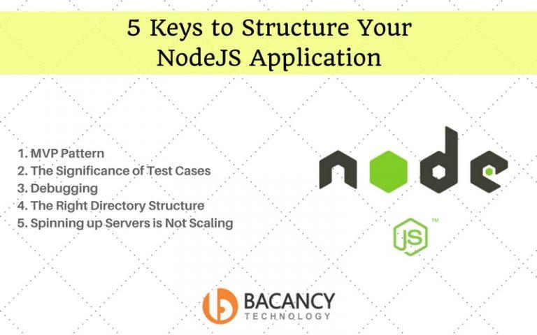 5 Keys to Structure Your NodeJS Application