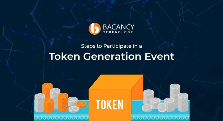 Steps to Participate in a Token Generation Event