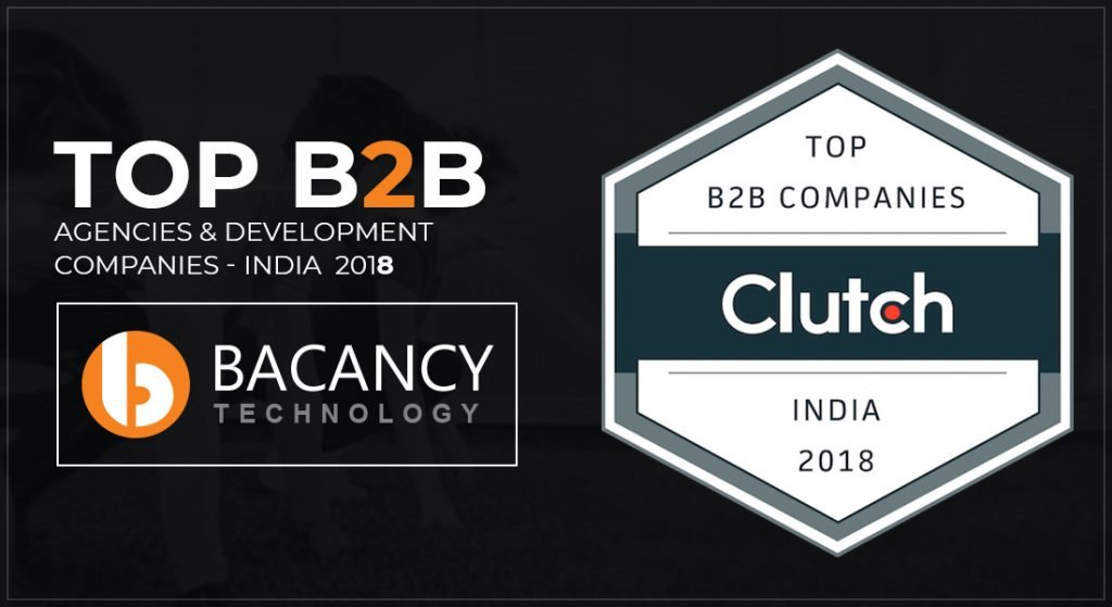 Bacancy ranks top B2B agencies by clutch