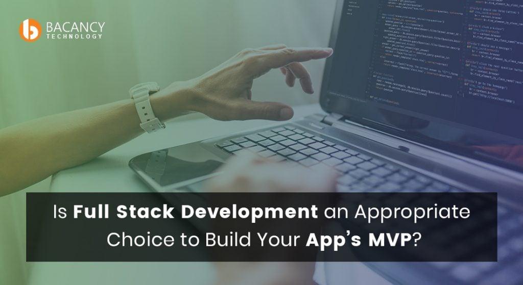 Full Stack MVP development