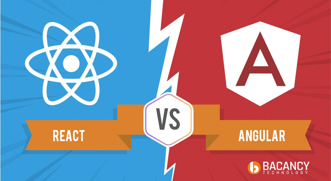 React vs  Angular: Which One Front-end Javascript Framework is Good?