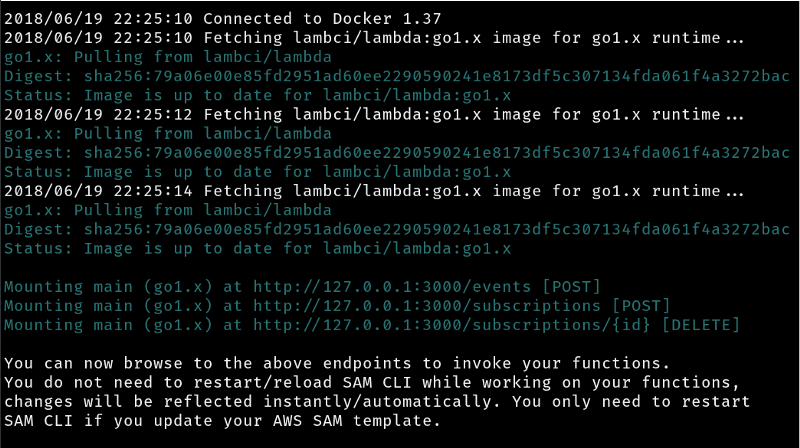 How to create and deploy Golang App using lambda function