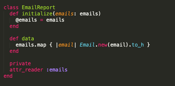Email value object