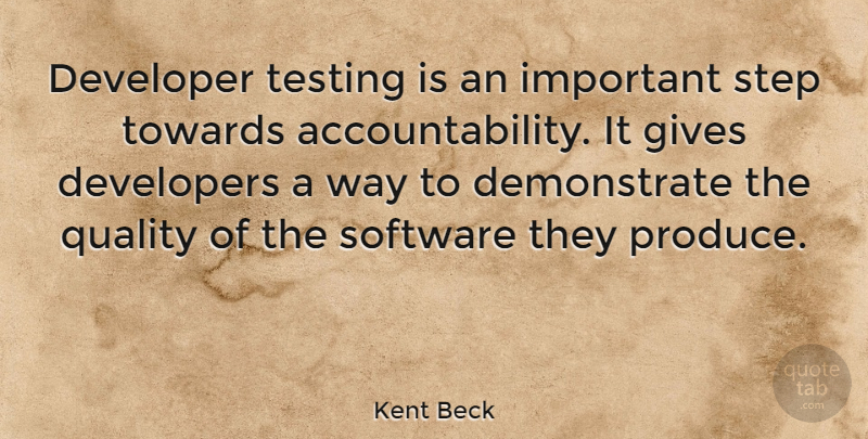 developer testing