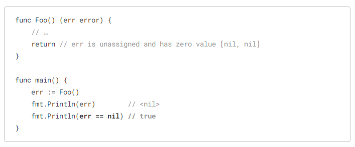 variable with a type error