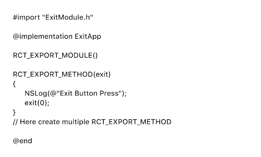 RCT_EXPORT_METHOD