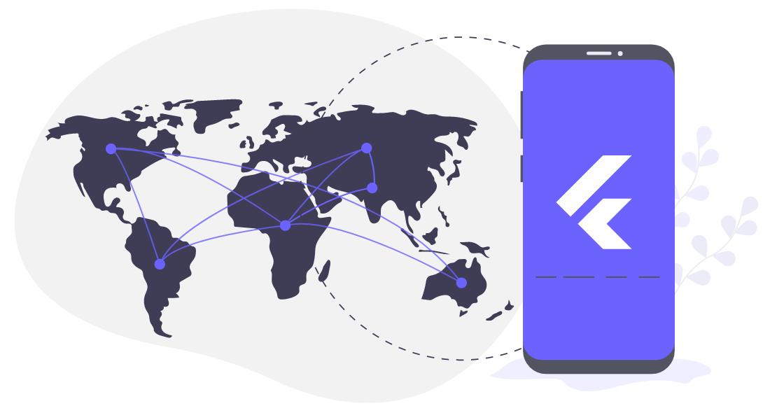 Flutter App Development Services Across the World