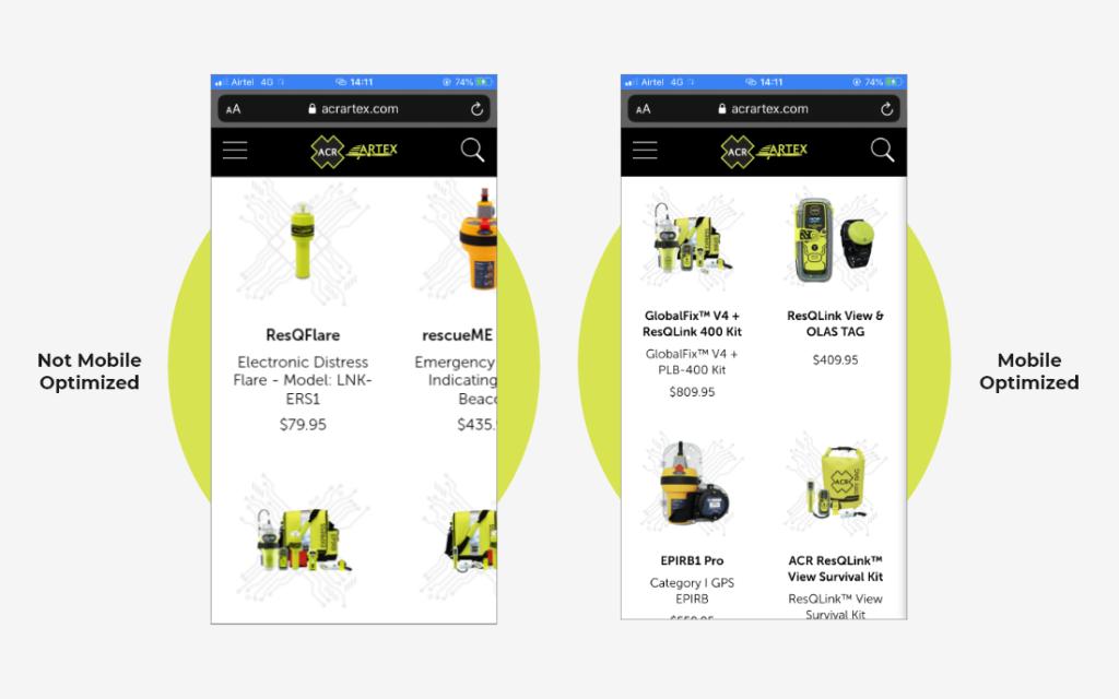 Ensuring Web Design is Optimized for Smartphones