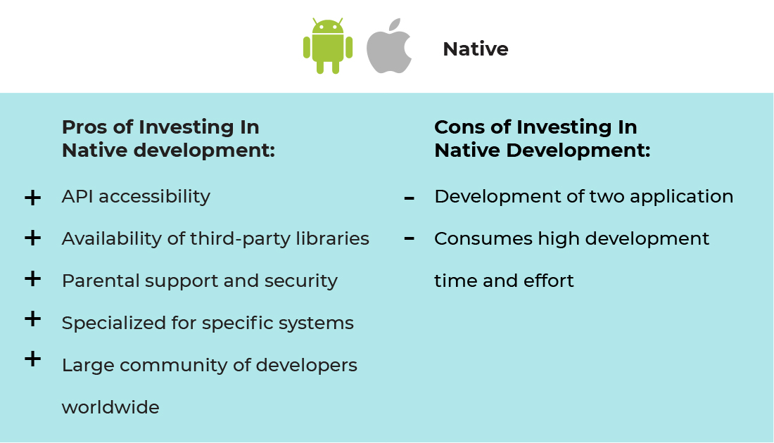 pros and cons of investing in Native Apps