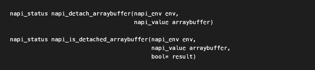 N-API Version 7