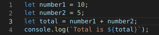 simple code of Adding two numbers