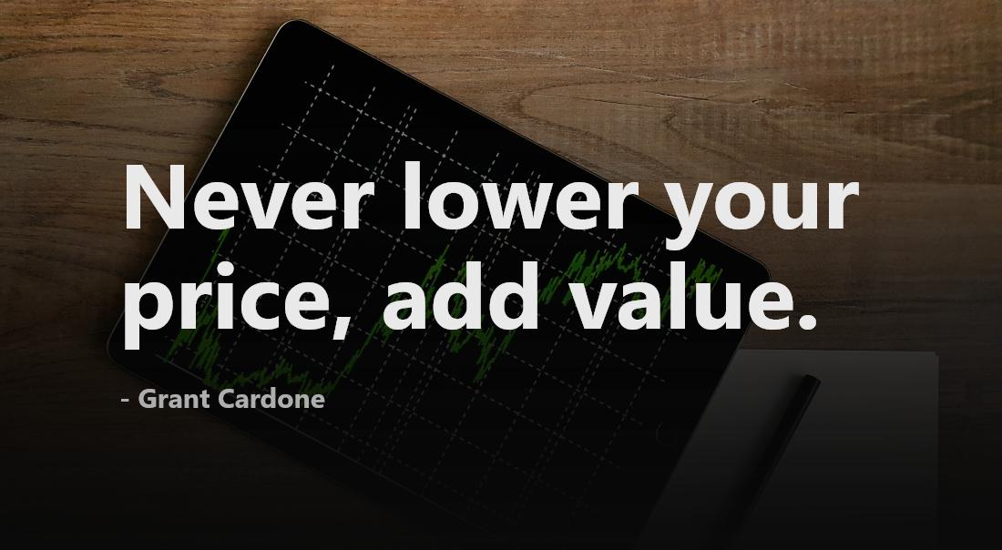 Prioritize Value Over Price