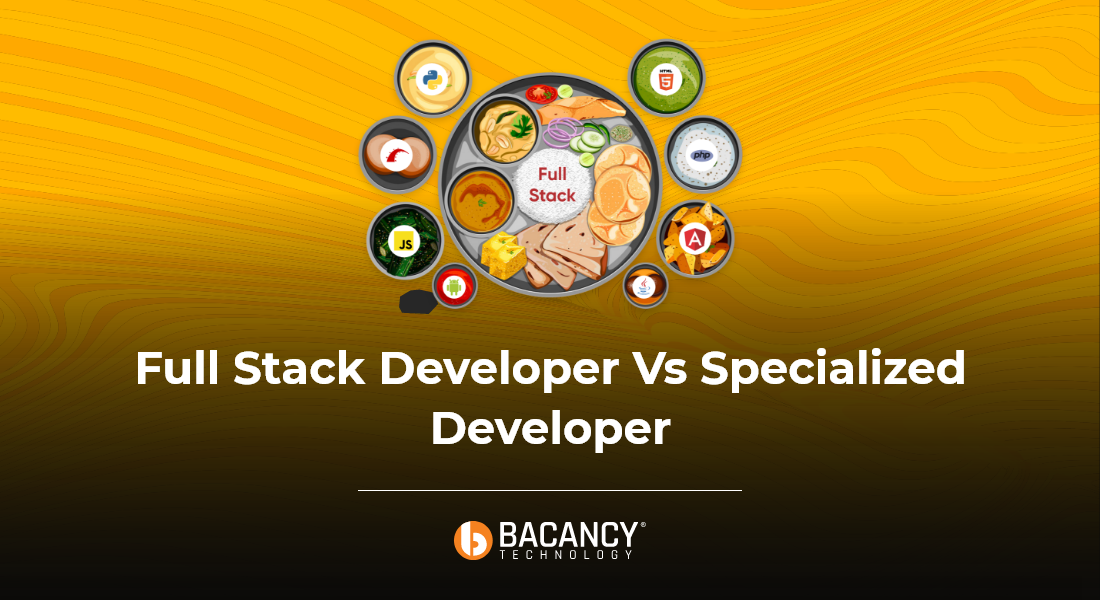fullstack developer or a specialized developer