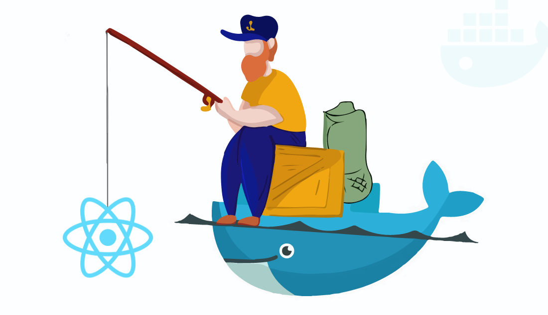 Docker with react