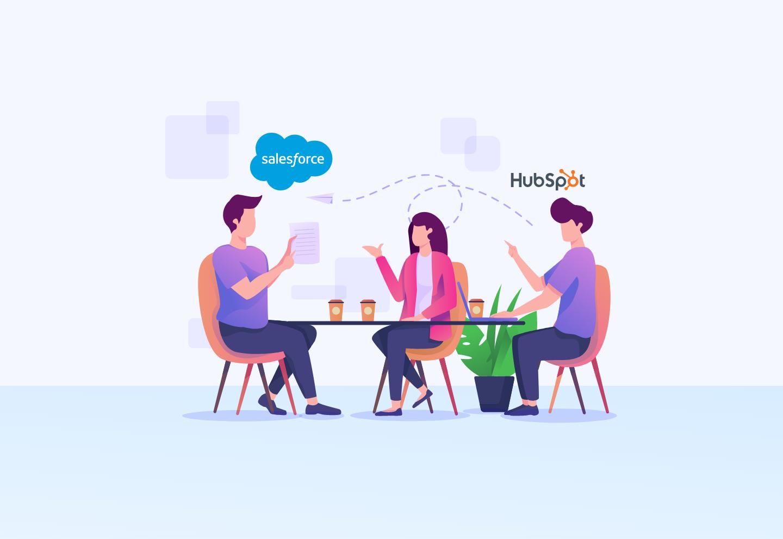 Evolution Salesforce Vs HubSpot
