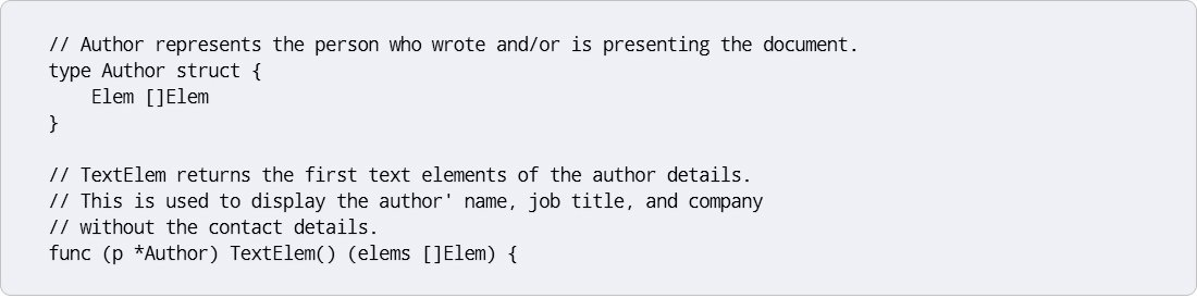 Take care of the documentation accurately