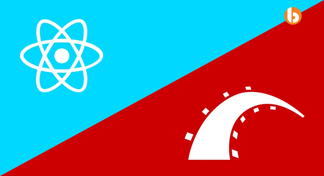 React with Rails