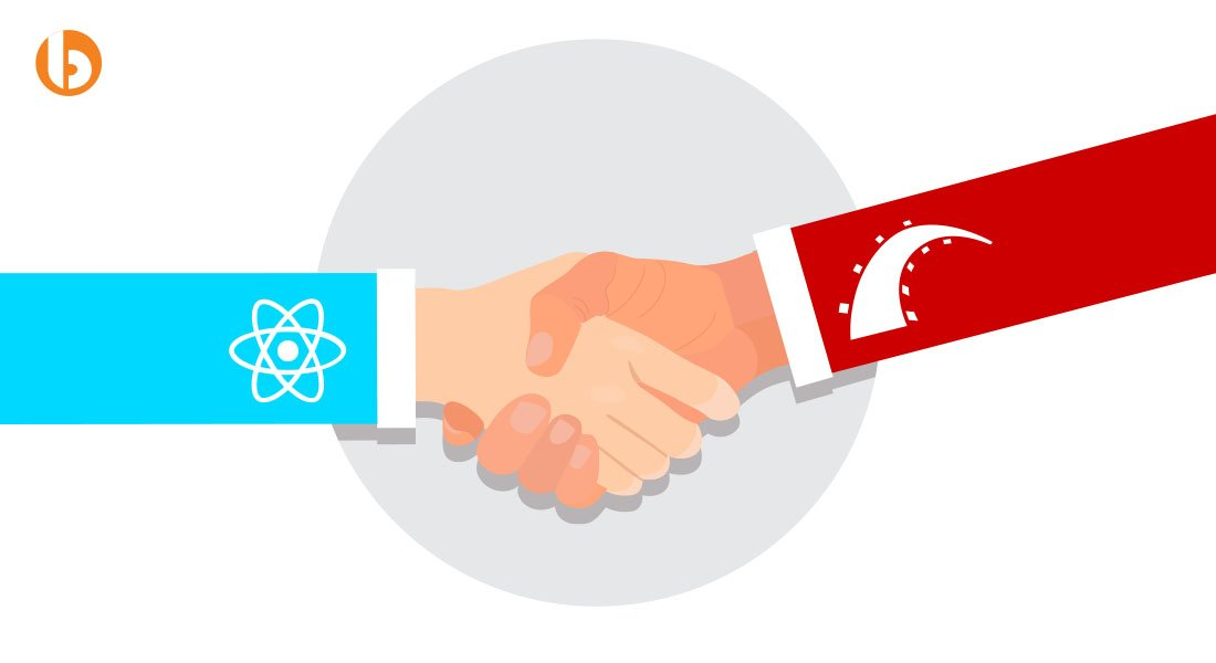 When to use React and Rails