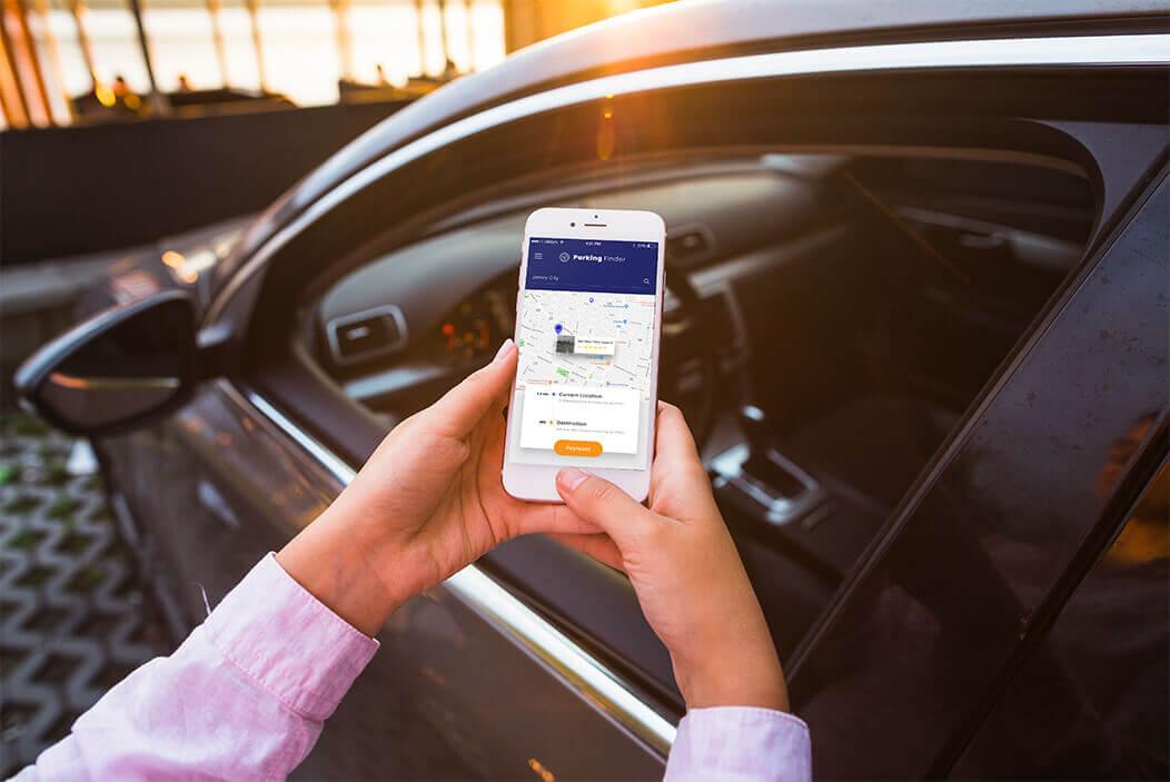 Parking app solution