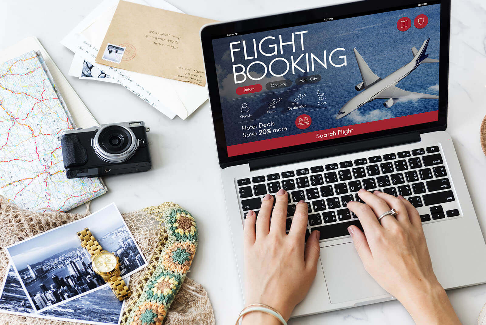 Our Travel Booking App Solutions Includes