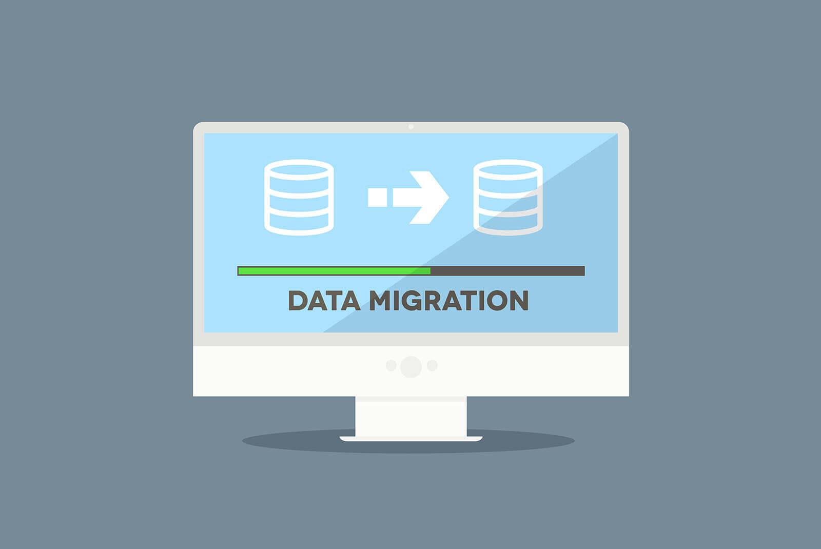 Migrate data