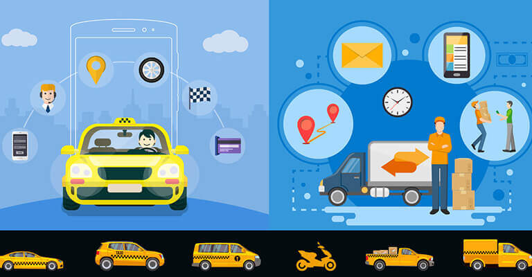 Taxi booking mobile application
