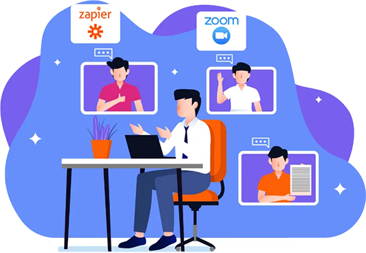 Custom Zoom And Zapier Integration Service