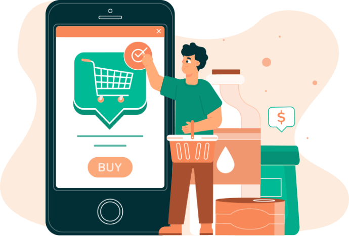 "Increase Your Business Reach And Sale With A ""Grocery App"""